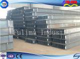 Viga de sección galvanizada del acero estructural H para la construcción (HB-001)