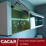 Armadio da cucina moderno della vernice di essiccamento di Pinao di stile dell'impressione del Reno (CA09-25)