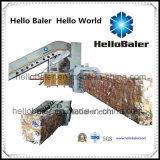 Prensa automática horizontal para el depositante hidráulico del papel usado