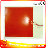 Calefator elétrico profissional de borracha de silicone 12volt