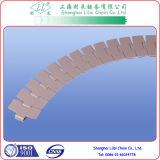 Sideflexing Plastic Kettingen van Rexnord met Materiaal POM (880TAB-K325)