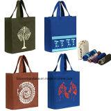 Soem-Erzeugnis-großes Baumwollfirmenzeichen gedruckte fördernde mehrfachverwendbare Einkaufstasche