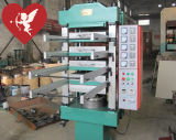 Recycler les carreaux de carrelage en caoutchouc Vulcanizing Machine / Caoutchouc Floor Tile Hydraulic Press