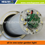 Tous dans une lampe solaire de jardin solaire de LED
