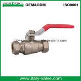 OEM y ODM calidad de cobre amarillo válvula de bola Pex forjado chapado (AV1051)