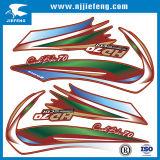 Etiqueta de la etiqueta engomada de la carrocería de la motocicleta del coche de la impresión de la pantalla
