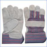 De korte Werkende Handschoenen van het Leer van de Zweep voor Industrie