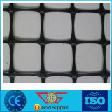 Plastique biaxiale Geogrid du meilleur des prix polypropylène de tension intense pp de noir