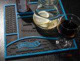 Esteira de borracha macia gravada costume do corredor da barra do logotipo para a venda