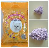 Absorptions-staubfreies aufhäufenbentonit-Katze-Sänfte-Haustier-Produkt