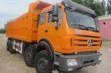 Beiben 8X4 팁 주는 사람 12 바퀴 40t~50t 덤프 트럭