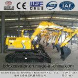 Máquinas escavadoras pequenas da esteira rolante da maquinaria de construção de Baoding com a cubeta 0.2-0.5m3