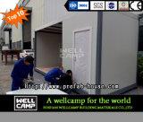 Case prefabbricate portatili installate facili del contenitore