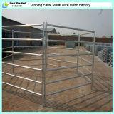 Painéis galvanizados da cerca da cerca do metal dos rebanhos animais da tubulação para cavalos
