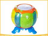 O bebê Multi-Functional brinca o cilindro com luzes asquerosas para o bebê