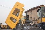 試験制御および交互計算の石のバケツ、石炭のバケツが付いている大きい車輪のローダー5トンの