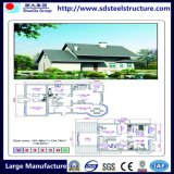 Stahlkonstruktion-Haus mit Stahlrahmen in China