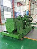 Preço grande barato elétrico Lvhuan 350kw de Genset do biogás da planta do biogás do fabricante de planta da potência verde com tipo aberto