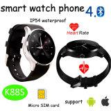 Neuestes Bluetooth intelligentes Uhr-Telefon mit Puls-Monitor (K88S)