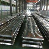 0.13mm-0.8mm galvanizou o material do aço da chapa de aço/do metal folhas da telhadura