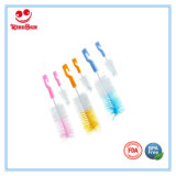 Piccole spazzole di pulizia del bambino della bottiglia di spazzola del capezzolo materiale di nylon dell'insieme