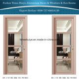 Porta de alumínio da cozinha de Bathroom& da dobradiça do projeto agradável com preço mais barato