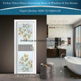 Portello di alluminio della stanza da bagno di profilo Nizza di disegno 2016