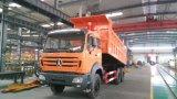 를 위한 Beiben 덤프 팁 주는 사람 트럭 6X4 290HP-380HP