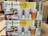 高品質のブランドビールガラスのコップのガラス製品のKbJ00133
