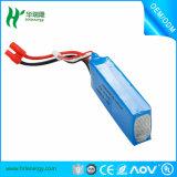 batterie de polymère de lithium de 1100mAh 7.4V pour le véhicule