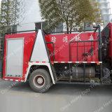 Sinotruk HOWO 4X2 336HP 물과 거품 화재 싸움 트럭
