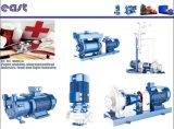 Bomba de mina modelo da DM Multisatge da cor azul do balanço do auto de Horizobtal para industrial