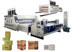 Flexo automático Printing y Die Cutting Machine