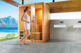 Sauna asciutta con il legno canadese del cedro per la famiglia (M-6055)