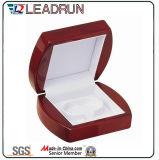 Caixa de madeira de madeira do bracelete da pulseira do brinco do anel do retângulo da caixa de embalagem do armazenamento do presente da jóia (lw010C)
