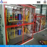Linha de produção plástica da corda da maquinaria plástica da corda