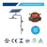 Nécessaires solaires Integrated de réverbères de la haute performance DEL
