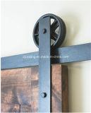 Ferragem apropriada preta da porta deslizante de rodas grandes (LS-SDU-1019)
