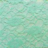 녹색 뻗기 아프리카 크로셰 뜨개질 직물 레이스 (NF1006)