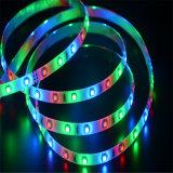 Indicatore luminoso di striscia flessibile di Epistar SMD3528 RGB 2.4W/M LED di prezzi competitivi