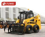 Piccola strumentazione moderna della costruzione di strade, gatto selvatico S185 del caricatore del manzo di pattino