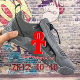 。 2017の新しい到着Zk12の低質のバスケットボール靴オリンピックZk Kdのエアクッションの網のピンクの黒の高い上のスポーツの靴が付いている12足のスニーカー