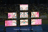 호리호리한 바디, 라이트급 선수, 유연한 특징과 가진 연약한 LED 스크린