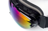 Rivestimento del Rainbow che corre gli occhiali di protezione protettivi della neve del pattino OTG