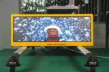 voltaje 12V y tipo pantalla al aire libre publicitaria superior de la lámpara del LED de las muestras P5 HD LED del taxi para hacer publicidad/las demostraciones vivas