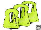 Тельняшка Snorkel спасательного жилета холстины детей портативная раздувная