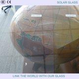 Glace Tempered pour la glace solaire de 3.2mm