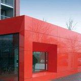 Samengestelde Comité van het Aluminium van de Decoratie van de Muur van de Deklaag van de polyester het Houten
