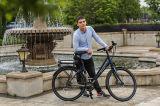 Bike Bike e мотора электрического города ретро СРЕДНИЙ