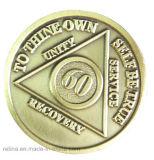 Souvenir personalizzato Challenge Coin con Diamond Edge